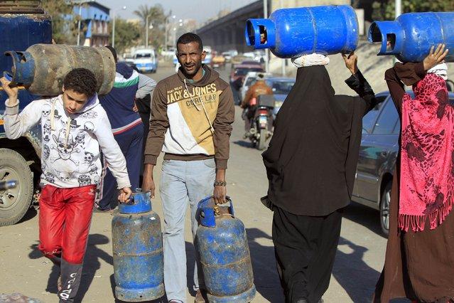 גז במצרים