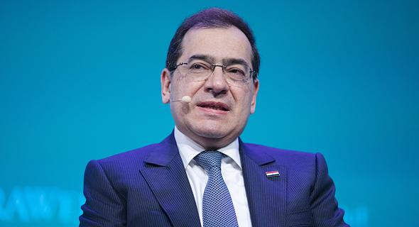 שר האנרגיה המצרי טארק אל מולא